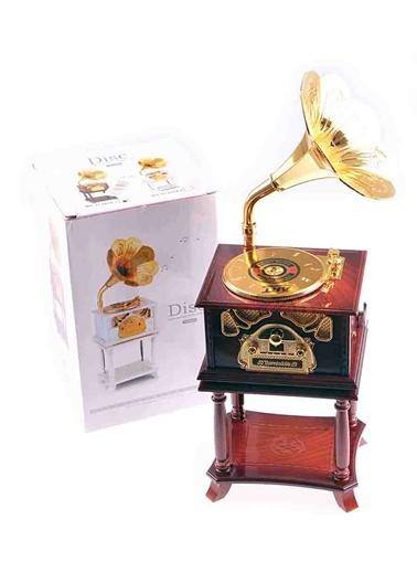 Gramafon Müzik Kutusu-Wooden Toys